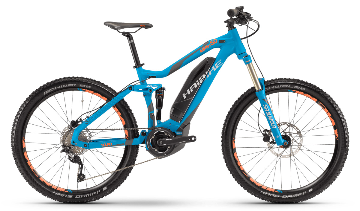 Haibike SDURO AllMtn 5.0 Blue Ex-display