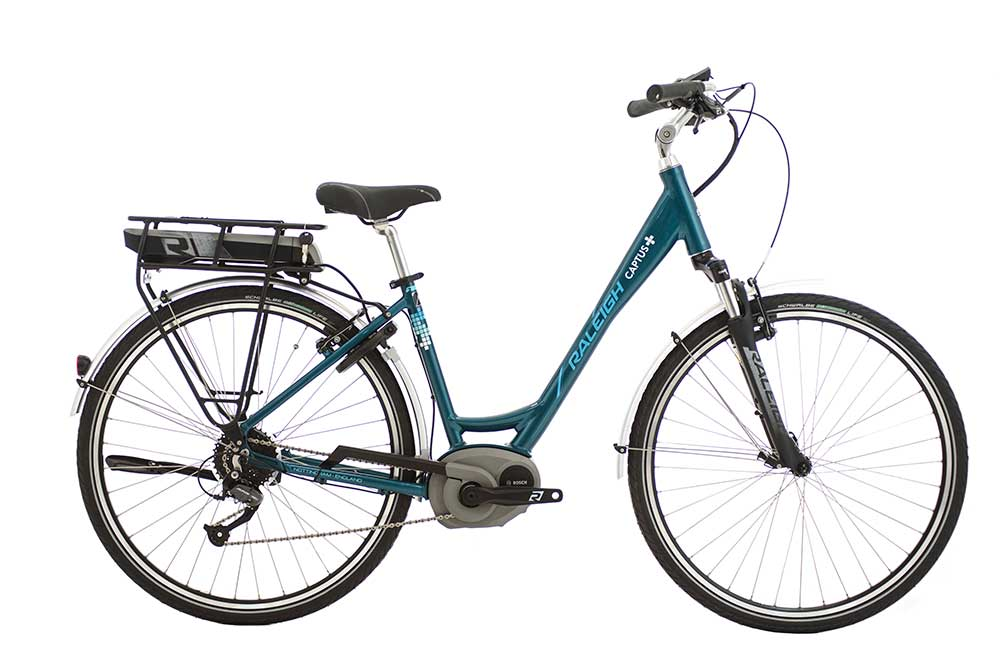 Raleigh CAPTUS LOW STEP 26in TEAL