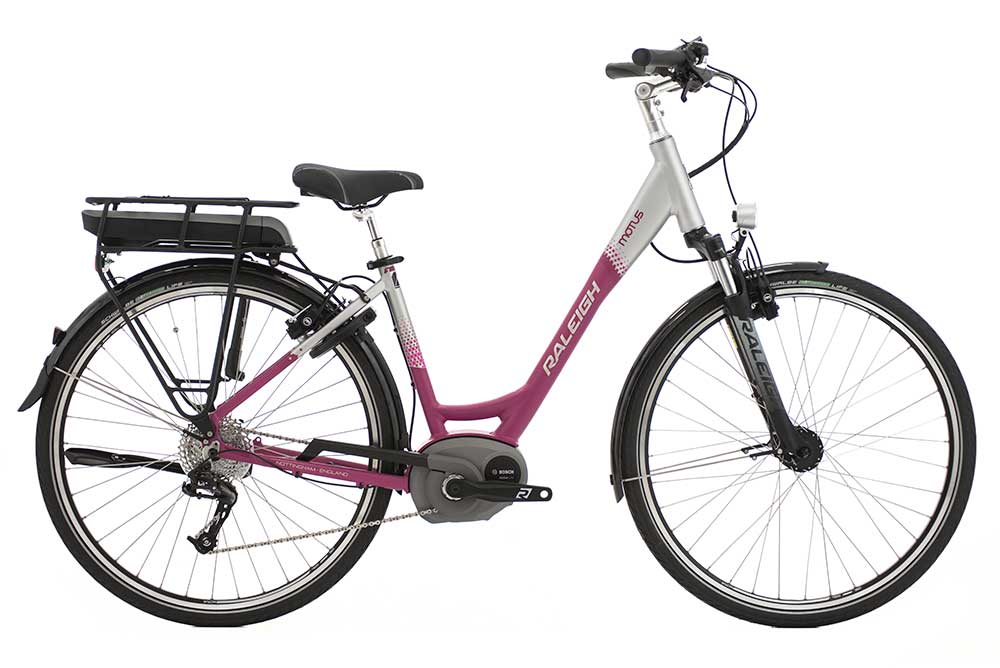 Raleigh  MOTUS HUB LOW STEP CERISE