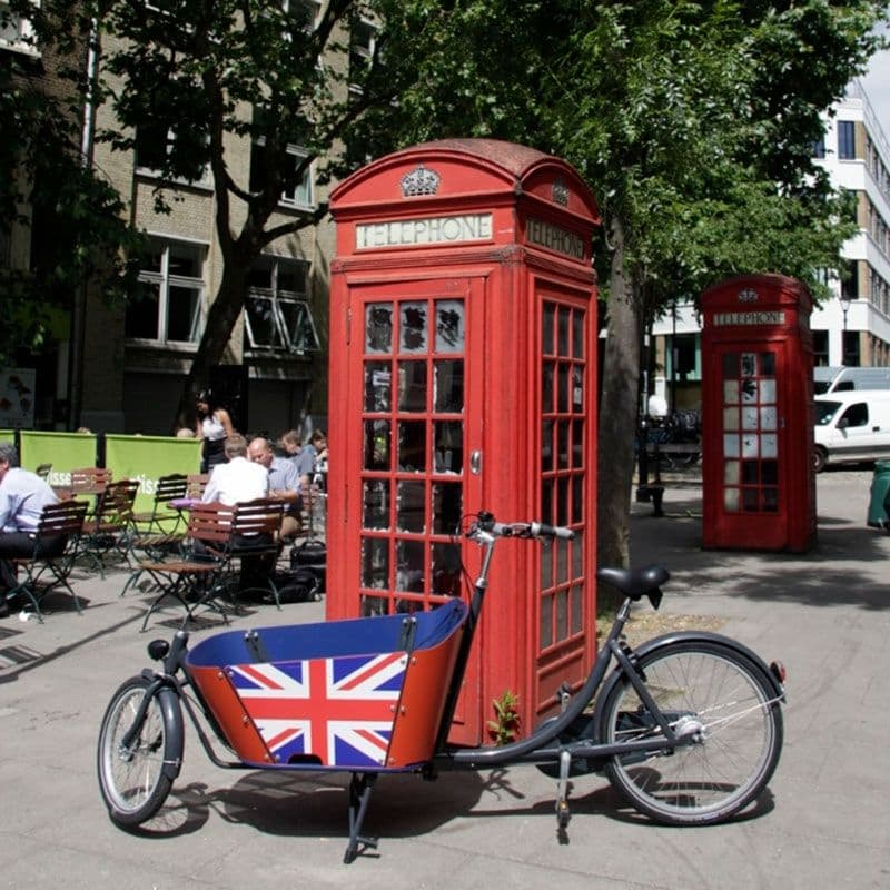 Babboe City-E Ltd. Union Jack Cargo Bike