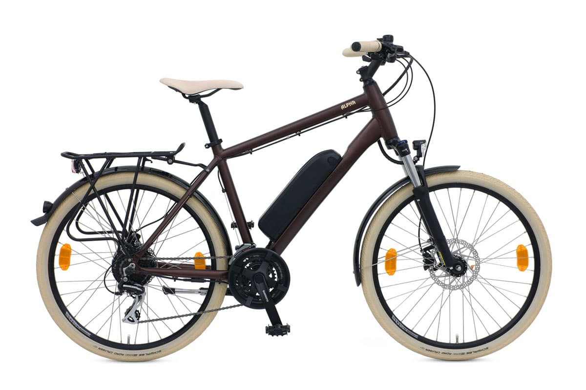Batribike Alpha Brown