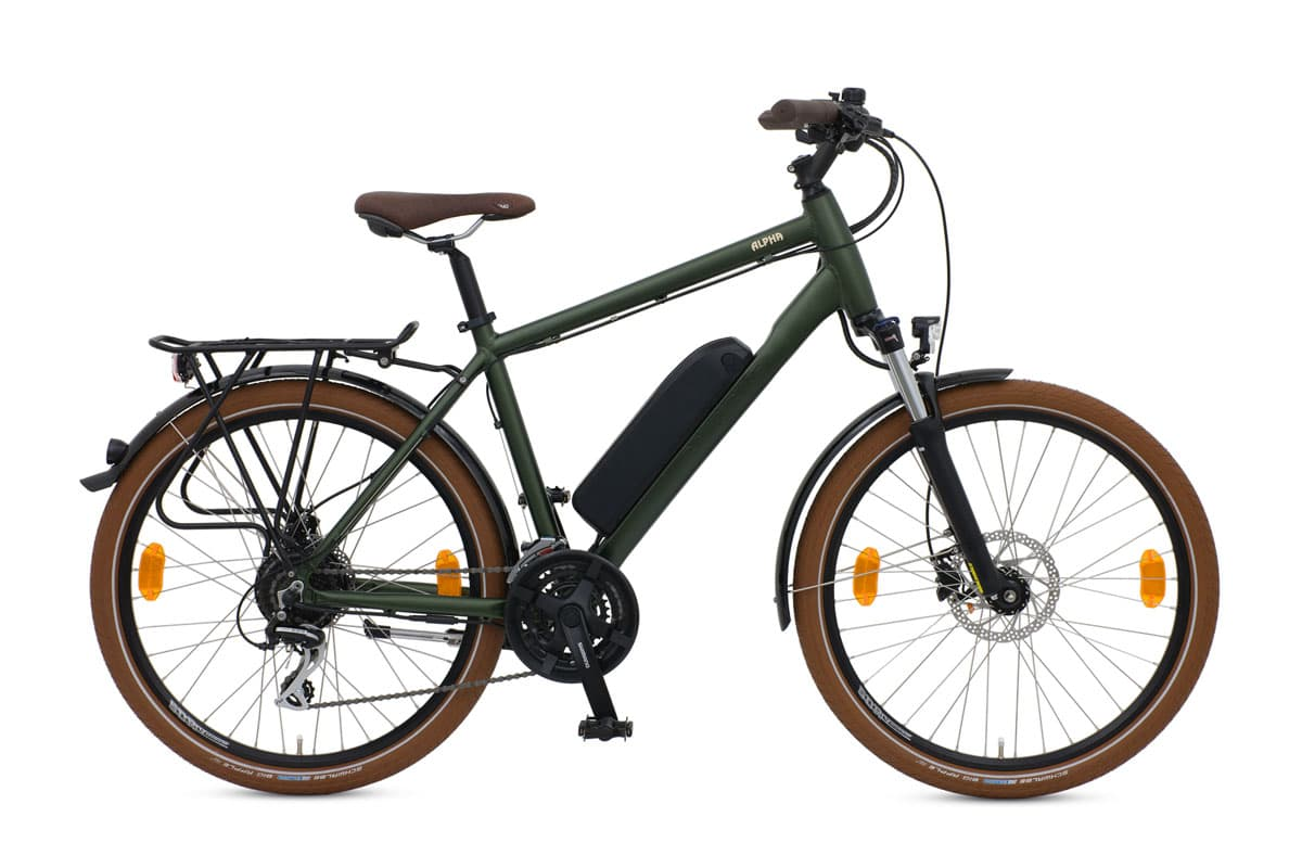 Batribike Alpha Green