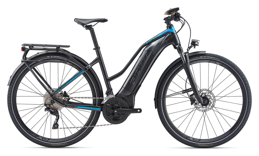 Giant Explore E+ 1 Low Step Electric Bike