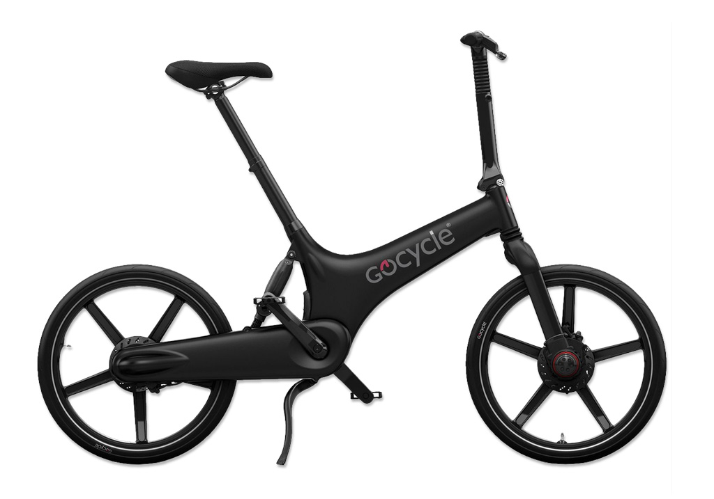 Gocycle G3 + Base Pack Matt Black