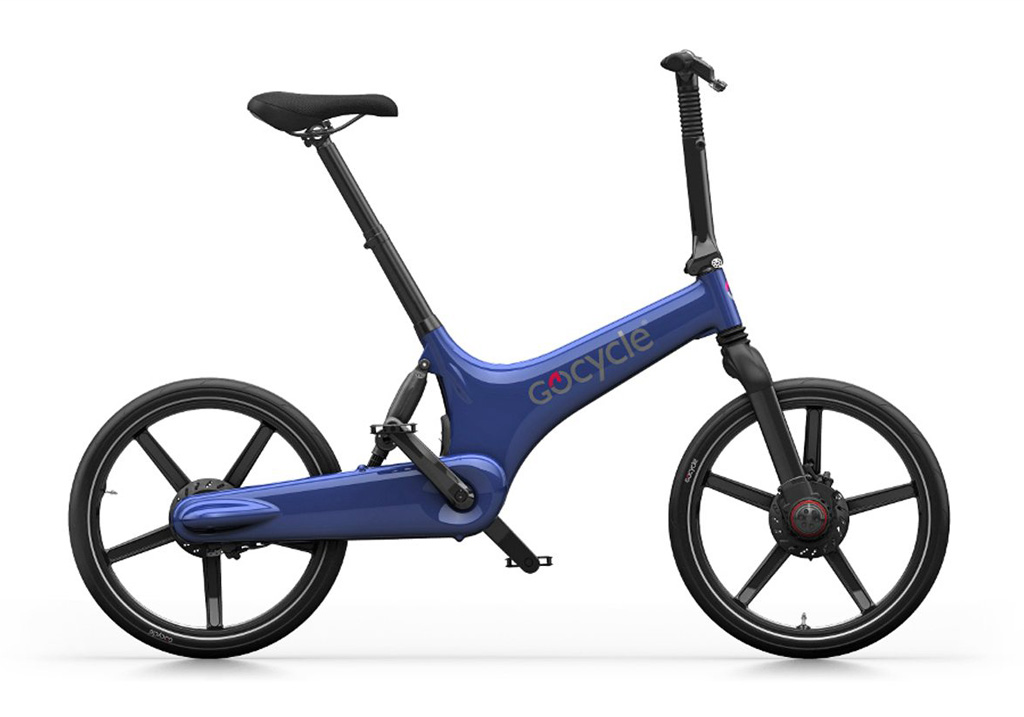 Gocycle G3 + Base Pack Electric Blue