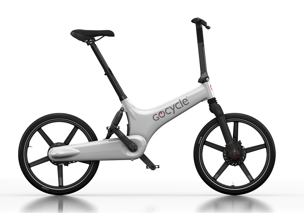 Gocycle G3 + Base Pack White