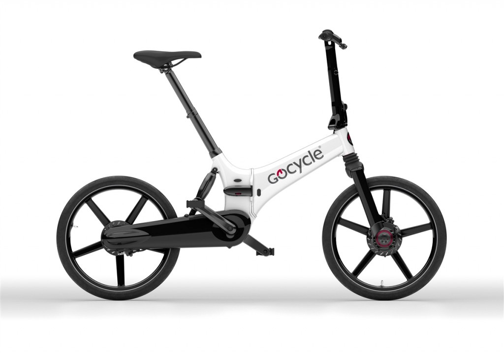 Gocycle GX Matt White