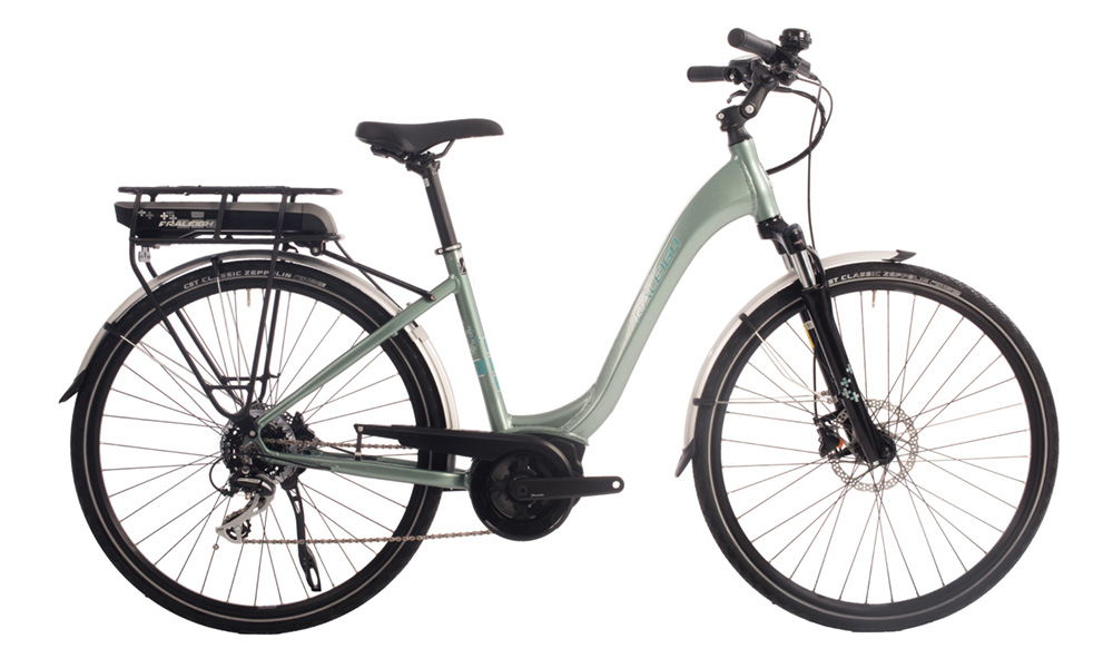 Raleigh MOTUS LOW STEP GREEN