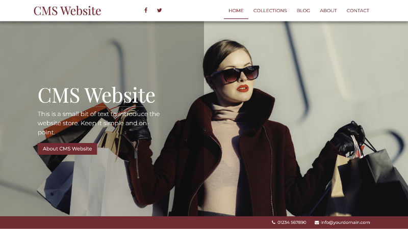 CMS Website