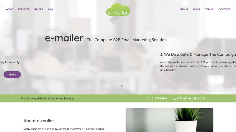 e-mailer email marketing