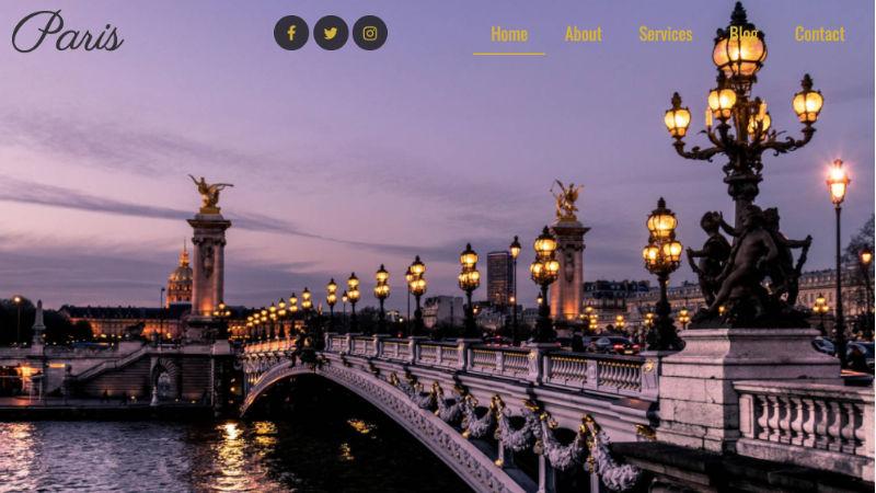 Paris CMS Blog
