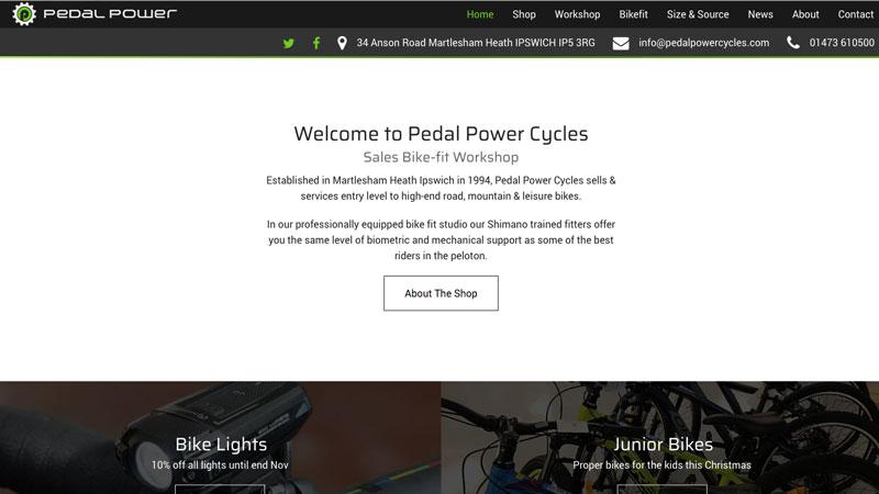 Template Bike Website