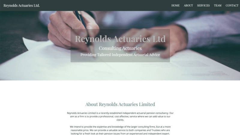 Reynolds Acturaries