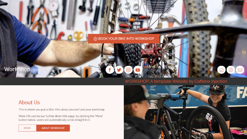 Cycle Workshop Website