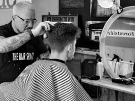 gents hairdresser Forestside
