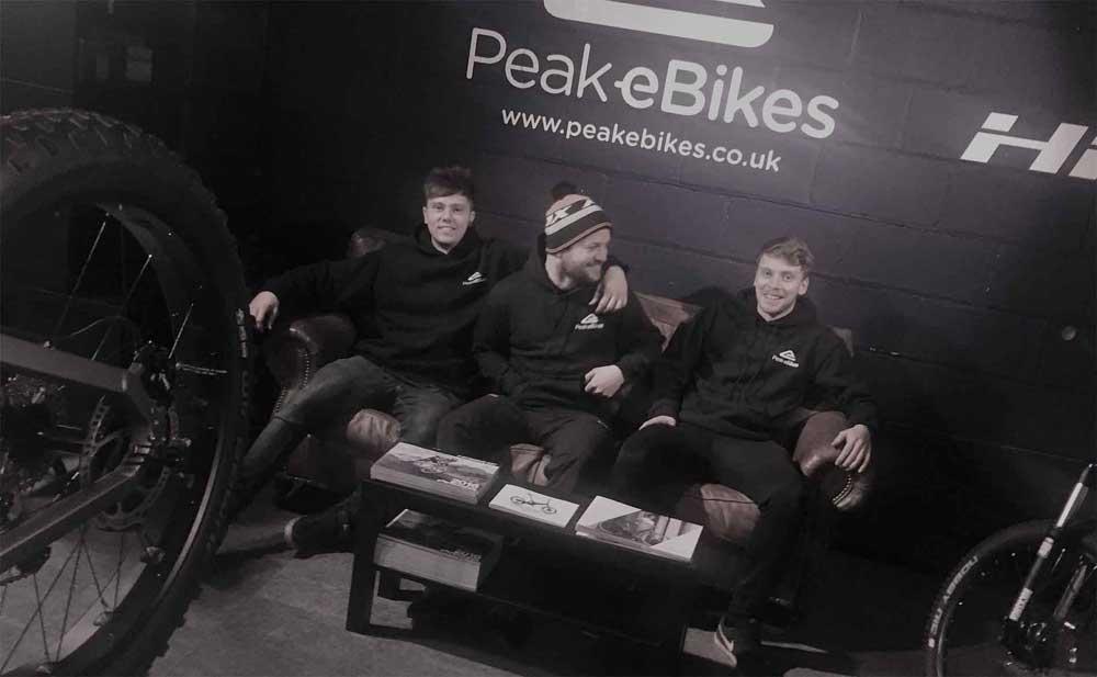 Peak eBikes Showroom