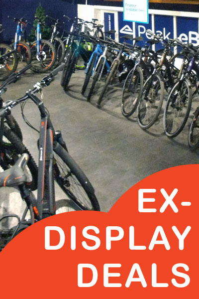 Ex-Display ebikes